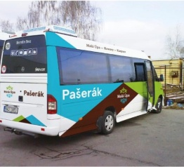 Letní minicyklobus PAŠERÁK