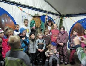 Namiot świąteczny – Černý Důl