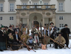Vánoční řemeslný jarmark a lyžecké závody postaru