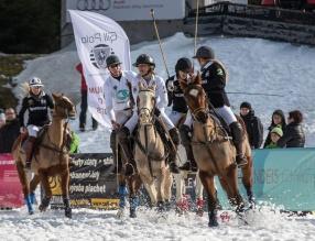 Turniej Czech Snow Polo Masters 2016 w Karkonoszach