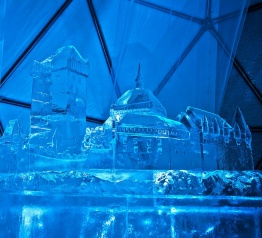 Historický odkaz v ledovém provedení