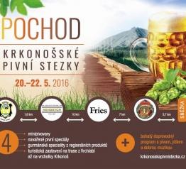 Pochod Krkonošské pivní stezky