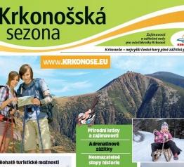 Krkonošská sezona v pátek 6. května 2016 jako příloha deníku MF Dnes