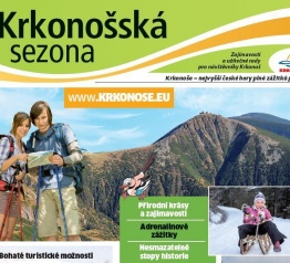 """Sezon na Karkonosze"" w piątek 6 maja 2016 r. jako dodatek do dziennika ""MF Dnes"""