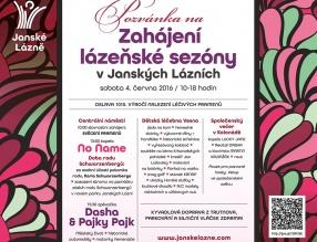 Zahájení lázeňské sezony 2016 v Janských Lázních