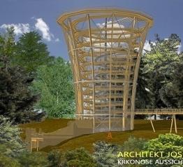 Stezka korunami stromů také v Krkonoších - stavba zahájena