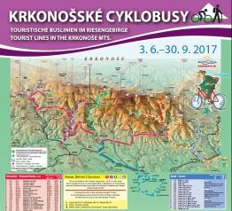 Krkonošské cyklobusy 2017 - zahájení provozu se kvapem blíží