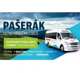 Pašerák - letní minicyklobus