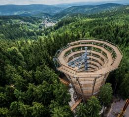 Stezka korunami stromů se otevře 2. července 2017