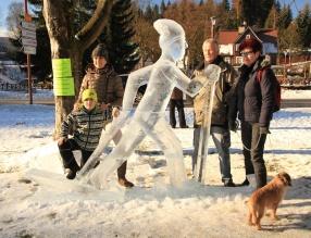 Festiwal rzeźbienia w lodzie