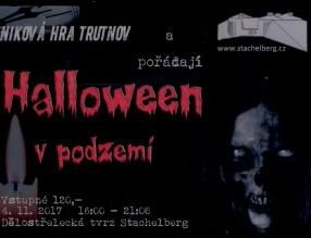 Halloween v podzemí - úniková hra