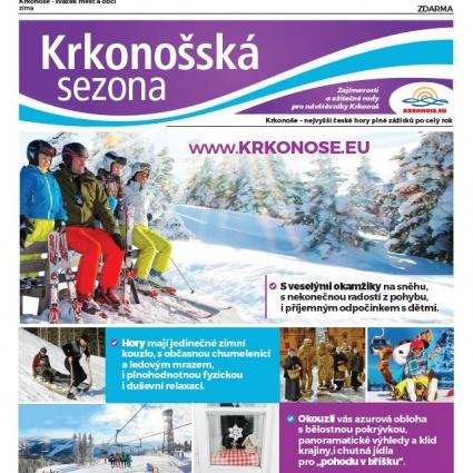 Zimní turistické noviny Krkonošská sezona