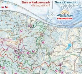 Nabídku zimních sportů zobrazuje nový propagační materiál Krkonoš