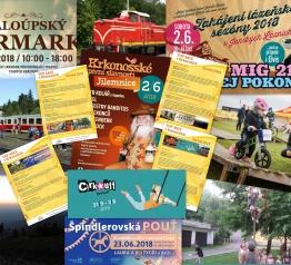TOP akce v Krkonoších – červen 2018