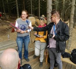 Zážitkový PressTrip pro polské a české novináře v Krkonoších
