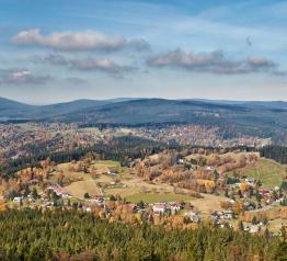 Krkonošské výhledy na podzim