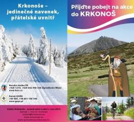 Nový tištěný celoroční Kalendář akcí v Krkonoších