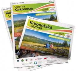 W centrach informacji turystycznej już czeka nowy numer biuletynu Sezon na Karkonosze