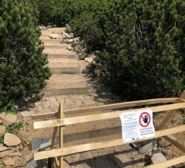Proszę nie dać się zaskoczyć – warto śledzić ograniczenia na szlakach