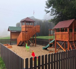 Nové dětské hřiště na Stachelbergu