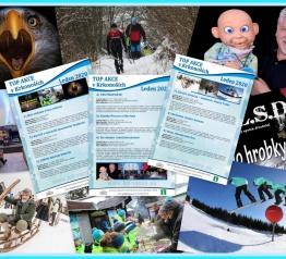 TOP akce v Krkonoších – leden 2020