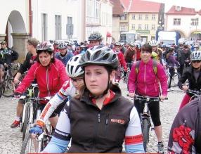 Uroczyste rozpoczęcie sezonu rowerowego w Žacléřu